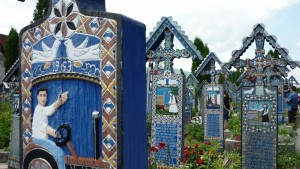 Lustiger Friedhof von Sepanta