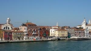 Venedig vom Schiff