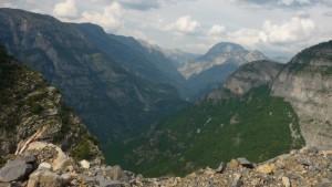 Blick Cijevna Tal