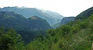 Montenegro, Bergwelt
