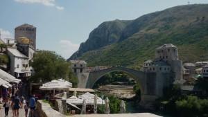 Die 'neue' Brücke von Mostar