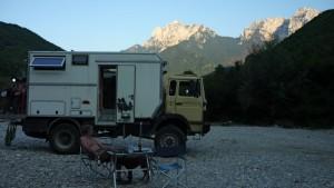 Nachtlager in Bosnien und Herzegowina