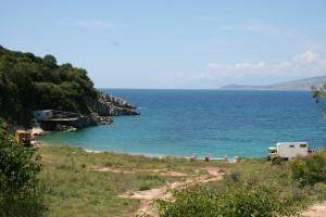 Bucht bei Sarande