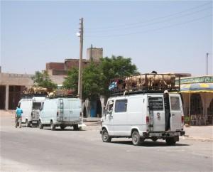Viehtransport auf marokkanisch