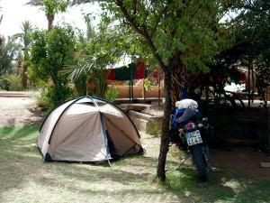 und schattige Zeltplätze