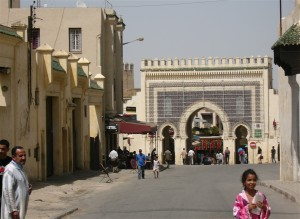 Eintritt zur Medina von Fes