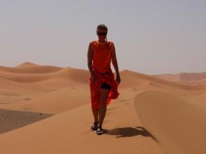 herrlich warmer Sand