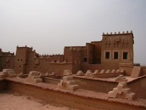 bewohnte Kasbah in Ouarzazate