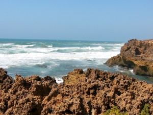 Atlantik Richtung Casablanca