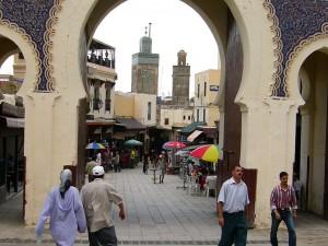 Fes, Eingang zur Medina