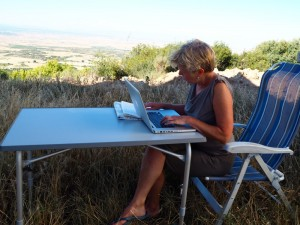 Marion blogging