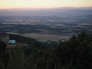 Sierra de Luna Abendstimmung