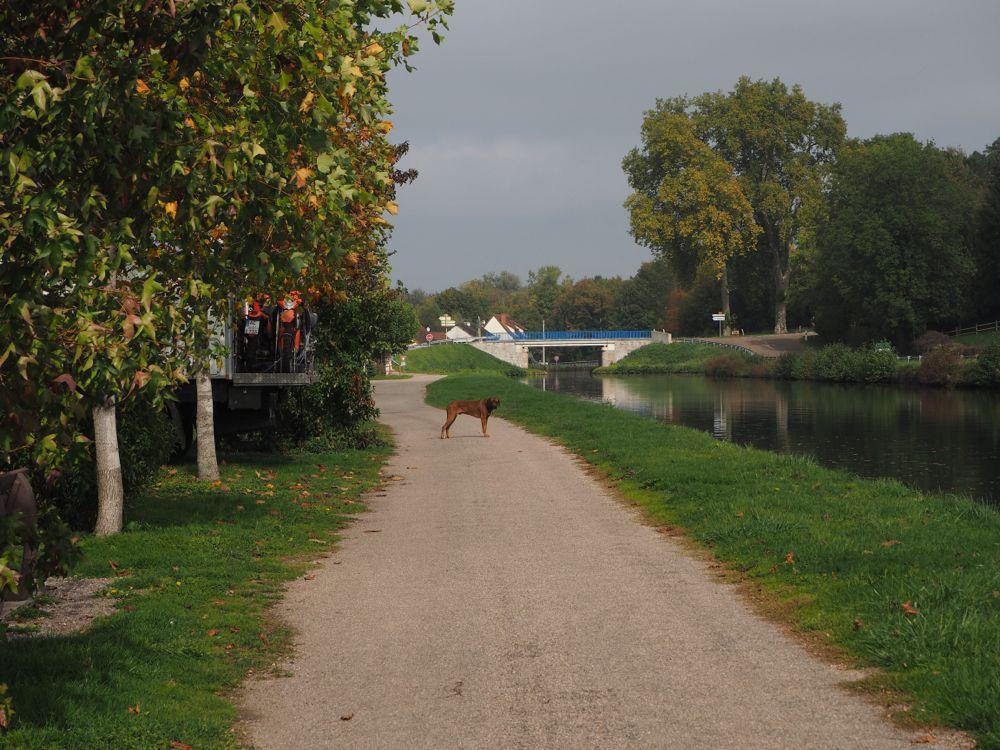 Stellplatz Canal du Centre