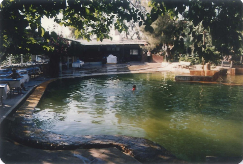 heiße Quellen Campingplatz