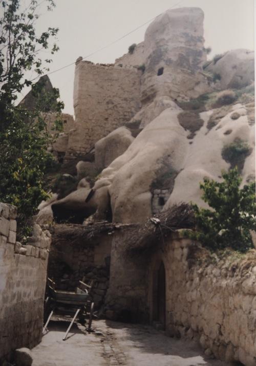 Wohnstätten in Kappadokien